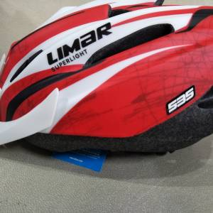 Limar 535 matt red white - last piece clearance rm139