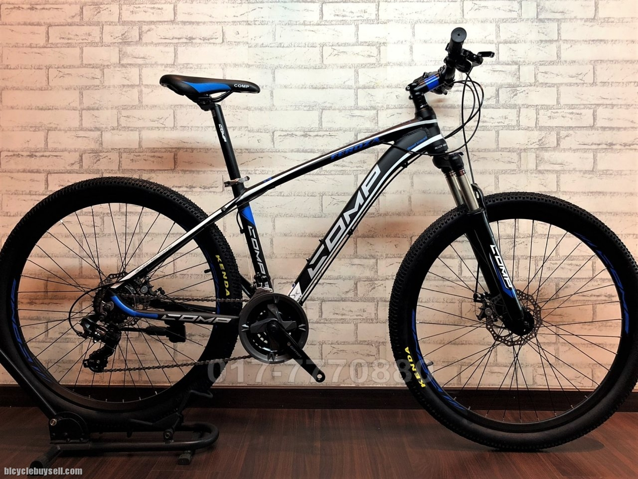 2019 COMP MTB 24 SPEED ALTUS SHIMANO WITH LOCKOUT FORK