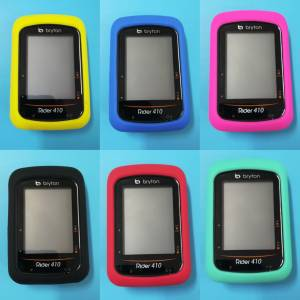 Bryton 410 Silicon Case & Screen Protector Set