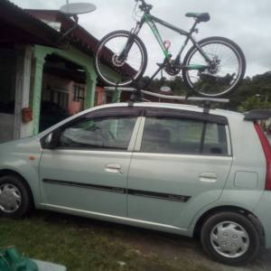 Bicycle Carrier Upgraded Version Car Roof Rack Universal