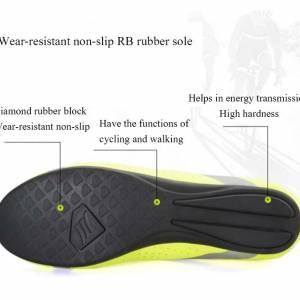 NEW YEAR SALE- SANTIC Apollo Men Professional Non-Clip Cycling Shoes(White)