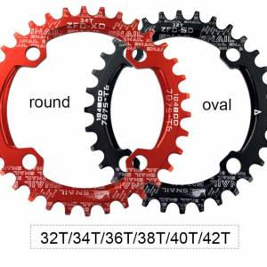 Snail 104BCD Oval Narrow Wide Chainring MTB Alloy
