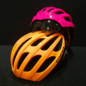 CIGNA AERO Helmet with bluit-in Sun Visor (Brand New) *Ready Stock !
