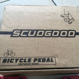 Scudgood Nylon Big Foot Pedal - LightWeight - free courier