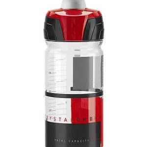 Elite Crystal Ombra clear bottle red 550ml/yellow700ml