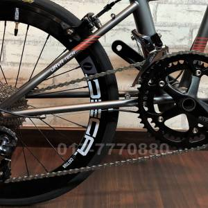 JAVA IRA 10KG CHROMOLY FRAME 18SP SORA CARBON FORK /HOLLOWTECH