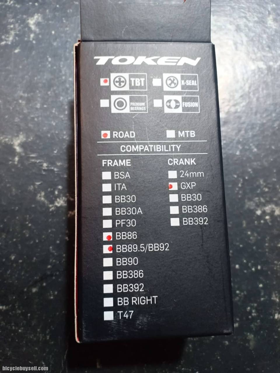SRAM GXP Crank TOKEN Bottom Bracket for BB86//BB89.5//BB92 Frame to Shimano