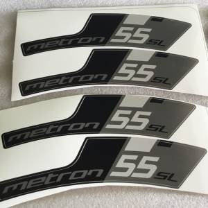 Vision Metron SL 55 Wheelset Sticker - Latest @ free pos