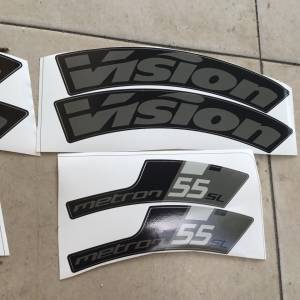 Vision Wheels Metron SL 55 Sticker - NEW -- free courier