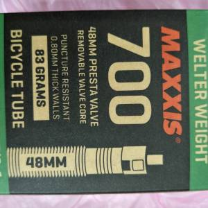 Maxxis Tube 700x18/25c 48mm valve length - removeable core type