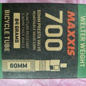Maxxis Tube 700x18/25c 60mm Fv - removable core type