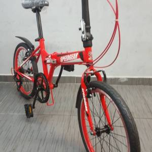 Speed Gear Ninja 20'' Shimano 7SP Folding Bicycle Bike Red