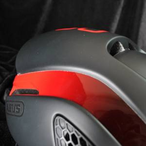 ABUS GameChanger Helmet - Black Red