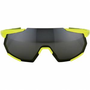 100% RACETRAP SUNGLASSES WITH BLACK MIRROR LENS