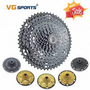 VG SPORTS 10 SPEED CASSETTE MOUNTAIN BIKE LARGE SPROCKET 10S 46T GOLD WIDE RATIO CASSETTE