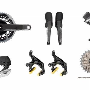 SRAM Red eTap AXS 12 Speed Groupset rim brake version - READY STOCK