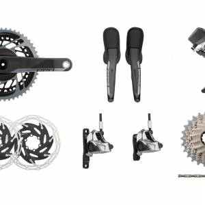 SRAM Red eTap AXS 12 Speed Groupset disc brake version - READY STOCK