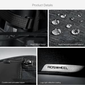 Roswheel TOPTUBE BAG WITH PHONE POUCH
