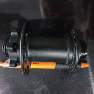 Croder Front hub 15mm enduro oem version - harden sand blast black finishing