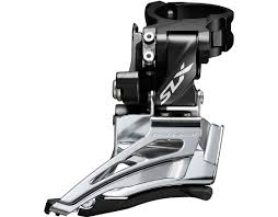 Shimano Slx Fd 2sp dual pull top clamp 31.8/34.9 dual compatible - genuine warranty last unit clear