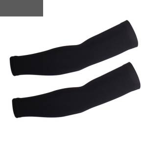 Essential cycling Arm Warmer Black Uv Protection (black)
