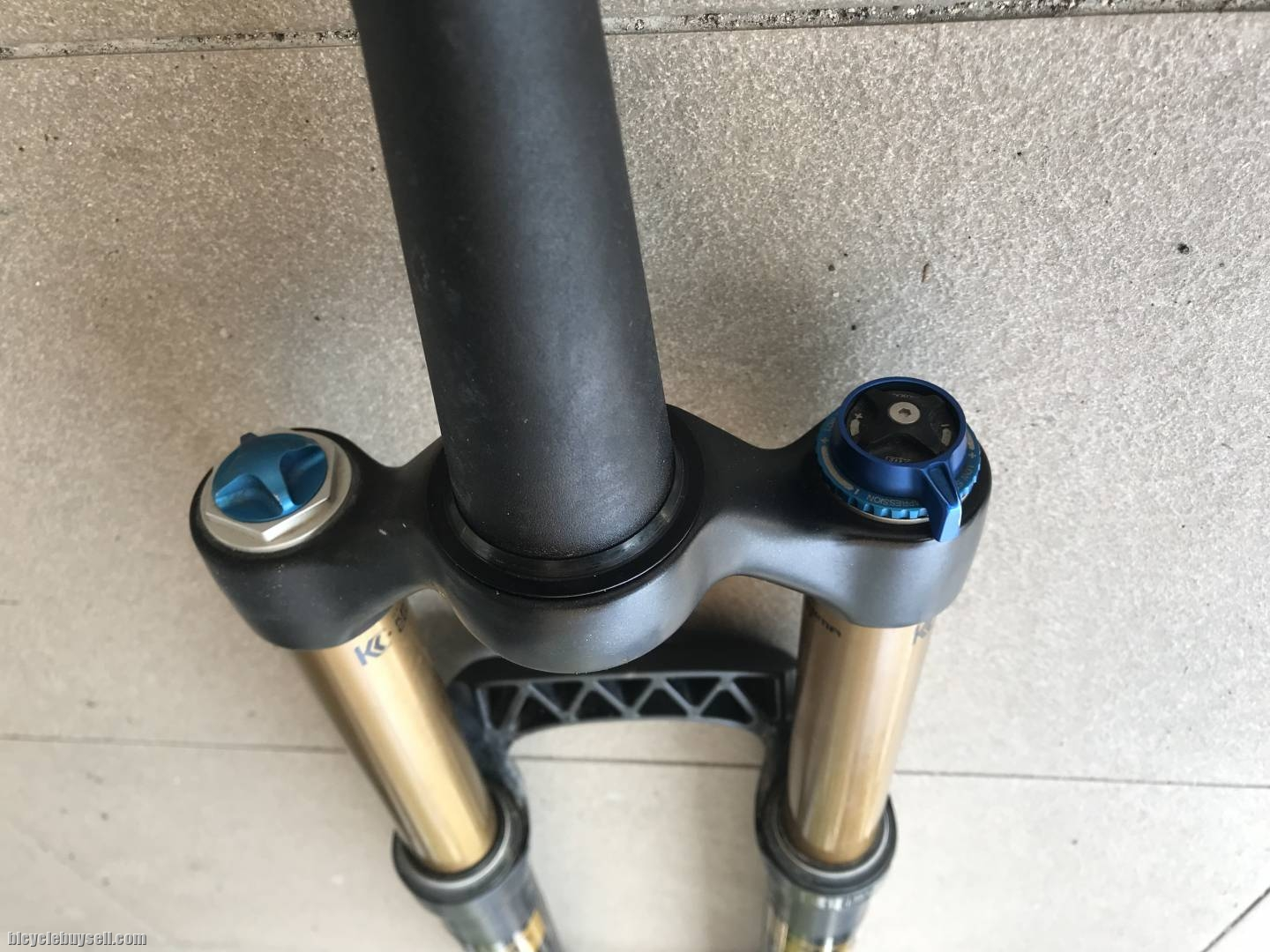 """Fox Factory Float 32 150mm FiT RLC Mountain Bike Fork 26"""" 15mm Tapered  Kashima"""