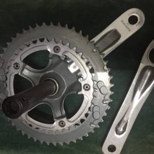 crank tiagra double chainring road/folding bike