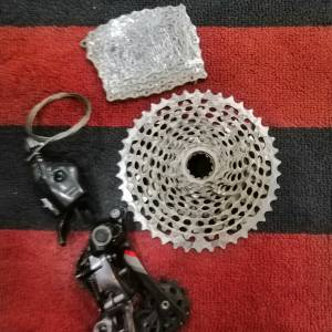 Sram XX1 groupset 11 speed