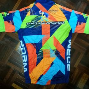 Custom made baju team jersey cycling club bicycle MTB Road Bike