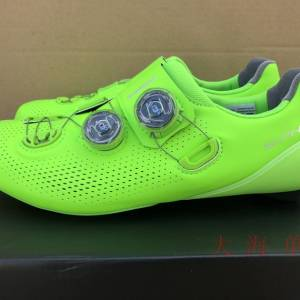 Authentic Shimano Rc901 Road Shoes 2019 Fluorescent Green