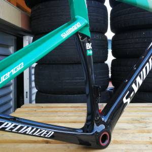 S-WORKS VENGE BORA EDITION CARBON FRAME !