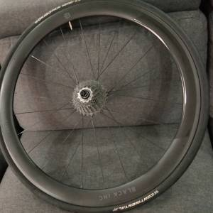 Black Inc 50 Ceramic Speed Wheelset Shimano Sram Hub