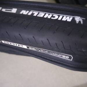 Michelin pro grip 700*23c Kevlar 2pcs With Tubes - used only one ride