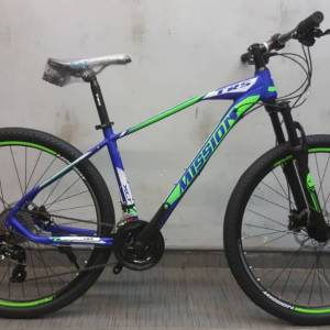 TRS MISSION 27.5'' ALLOY 24SP HYDRAULIC Bicycle Bike GREEN