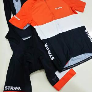 Swiss Cuore x Strava Limited Edition cycling jersey & bibs