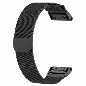 GARMIN FENIX 3 /5S / 5 / 5X PLUS SERIES QUICK FIT MAGNETIC METAL BAND (FREE POS)