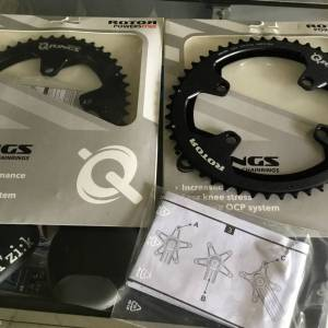 Rotor Q-Ring ALDHU NEW 50T Outer / Shimano 110x4Arm (free pos w.m)