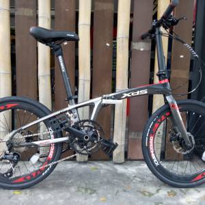 "20"" 451 XDS K1 18SP FOLDIE FOLDING BIKE 2019"