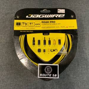 JAGWIRE ROAD PRO COMPLETE CABLE KIT - YELLOW