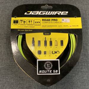 JAGWIRE ROAD PRO COMPLETE CABLE KIT - FLUO YELLOW