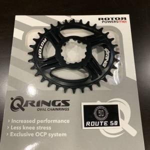 ROTOR Q RINGS  32T OFFSET 6MM (SRAM DIRECT MOUNT)
