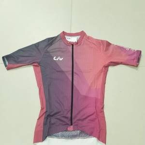 LIV CALM SERIES Short Sleeves Women's Cycling Jersey Pink in S/M/L 2019