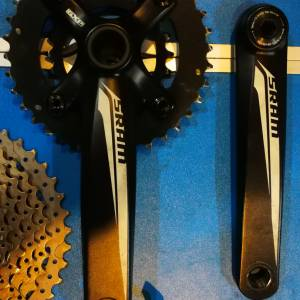 SRAM 10 SPEED GEAR SET !