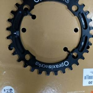 Praxis work 32t single chainring 104bcd super durable n precision  -last unit clearance
