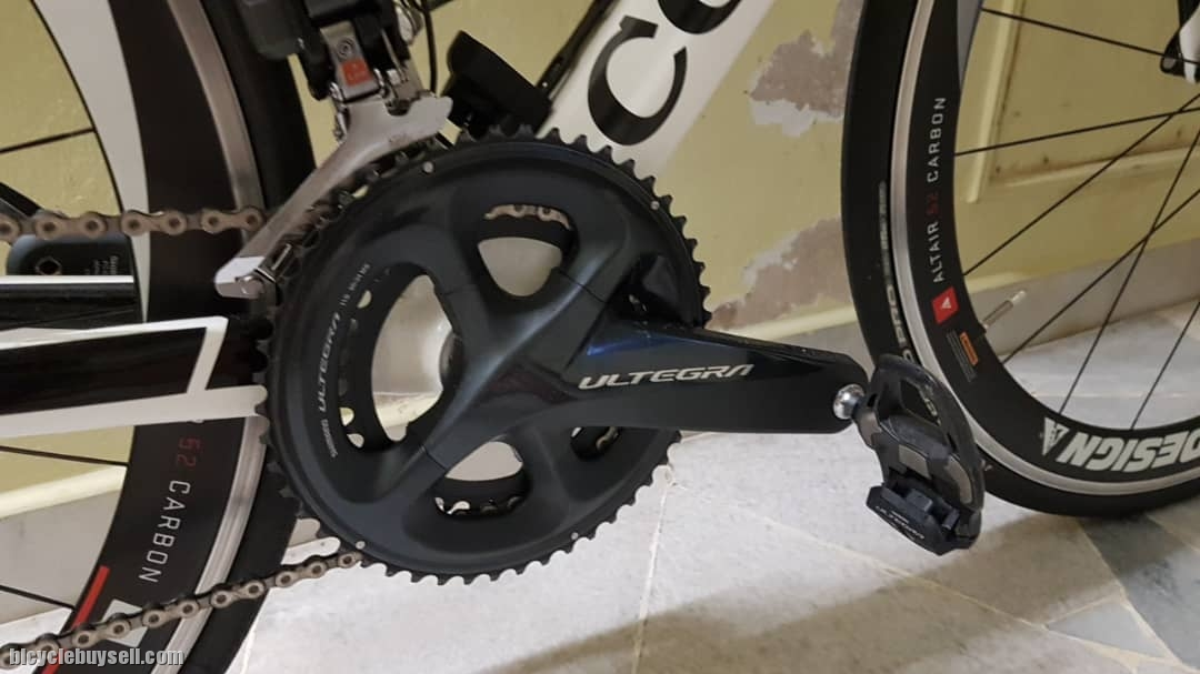 Roadbike Colnago ACR Size XXS 45 on Di2 Profile Design Wheelset