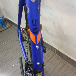 NEW TOTEM FLASH ALLOY RACING BICYCLE 700C BIKE 16SP BLUE