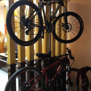 Brand New! 2 BICYCLES FLOOR STAND / Rack