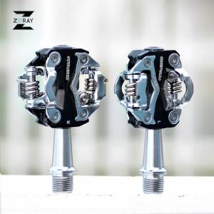 ZeRay MTB Pedals ZP-108S SPD Compatible Pedals Dual sided Road Bike shimano m520 130g ultralight