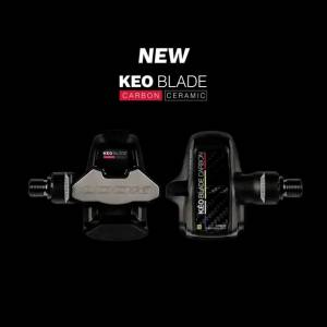 NEW ! Look Keo Blade Carbon ( Ceramic ) Pedal Chromoly Axle
