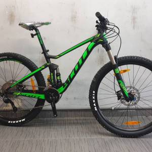 Scott 760 Spark 27.5in Deore Dual Suspension Mountain Bicycle
